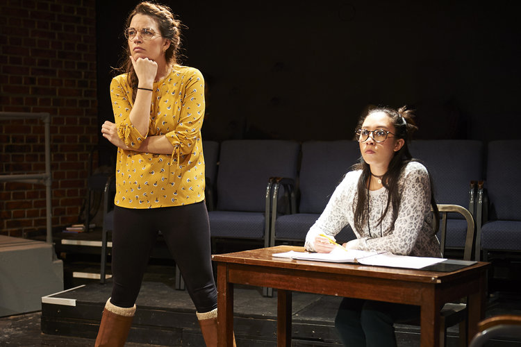A scene from Steep Theatre's RED REX. Photo credit: Lee Miller