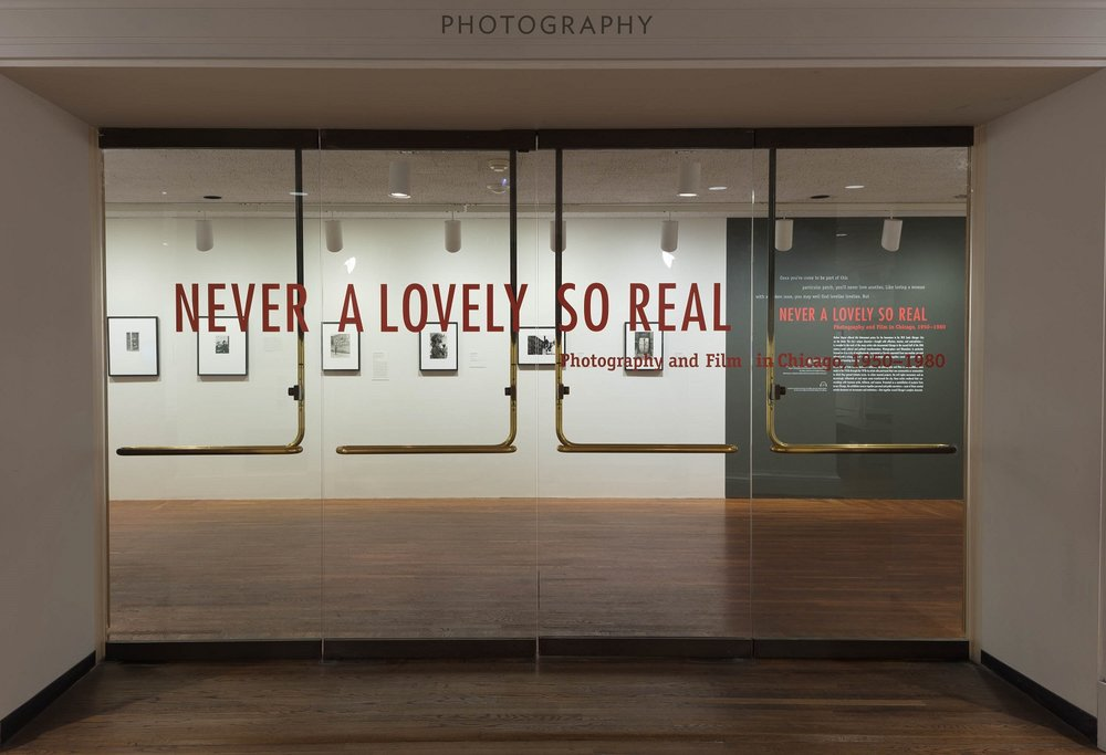 The Art Institute's photo exhibition NEVER A LOVELY SO REAL