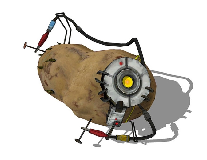 """""""How are you holding up? Because I'm a potato"""""""