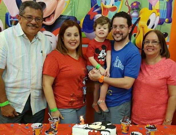 - Pastor Daniel Juarbe and Family