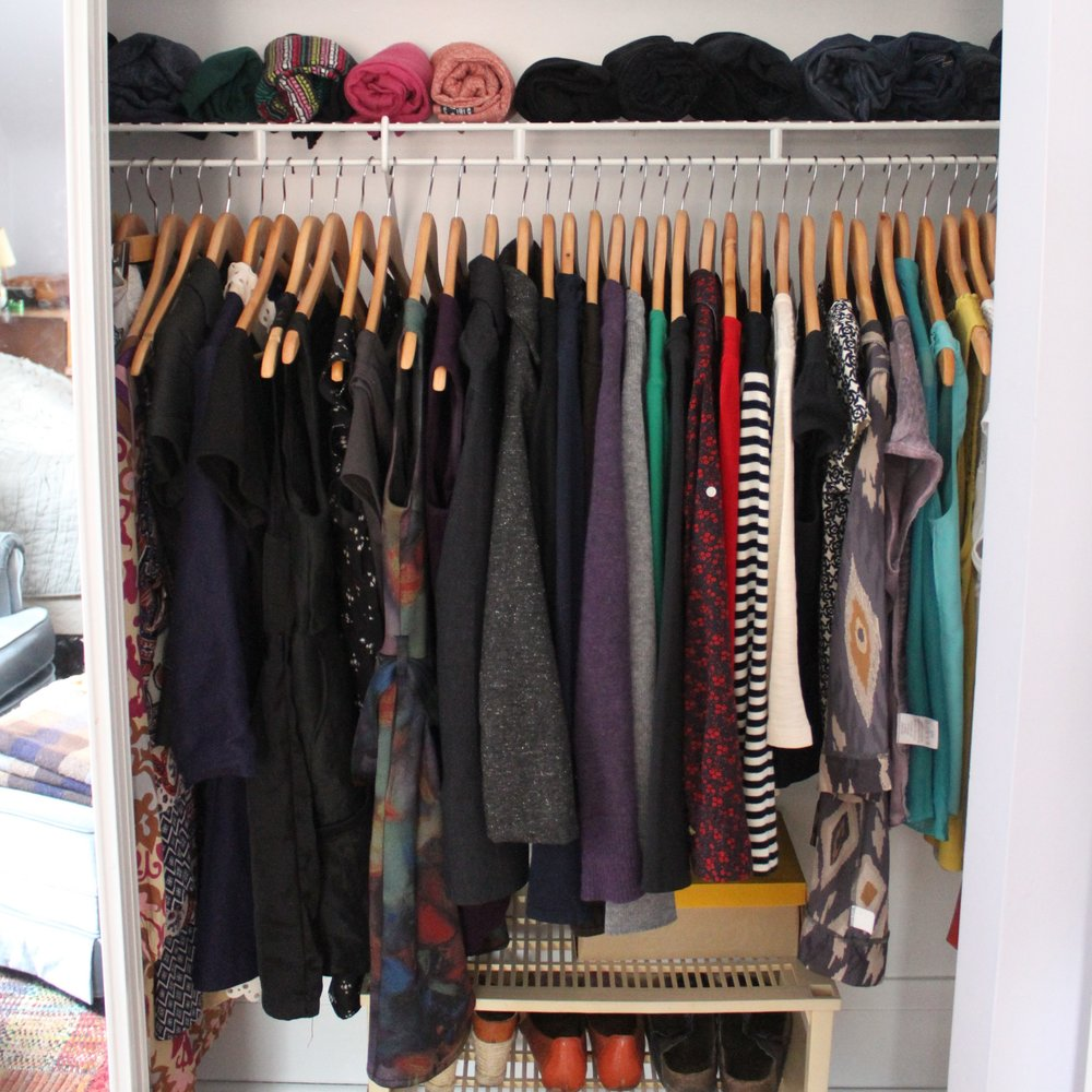 KEEPING IT SIMPLE CLOSET -