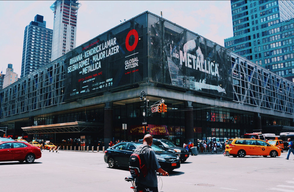 2016 Global Citizen Festival OOH campaign — Penn Station, New York City