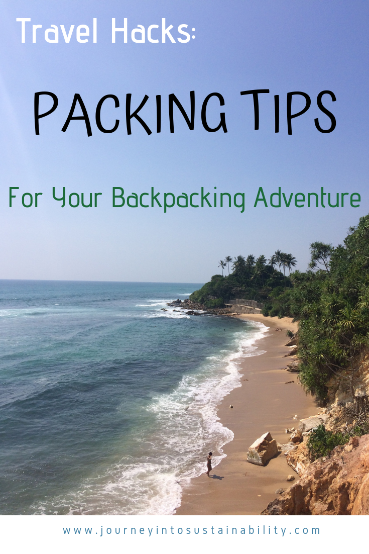 Packing TIps for Backerpack Travel