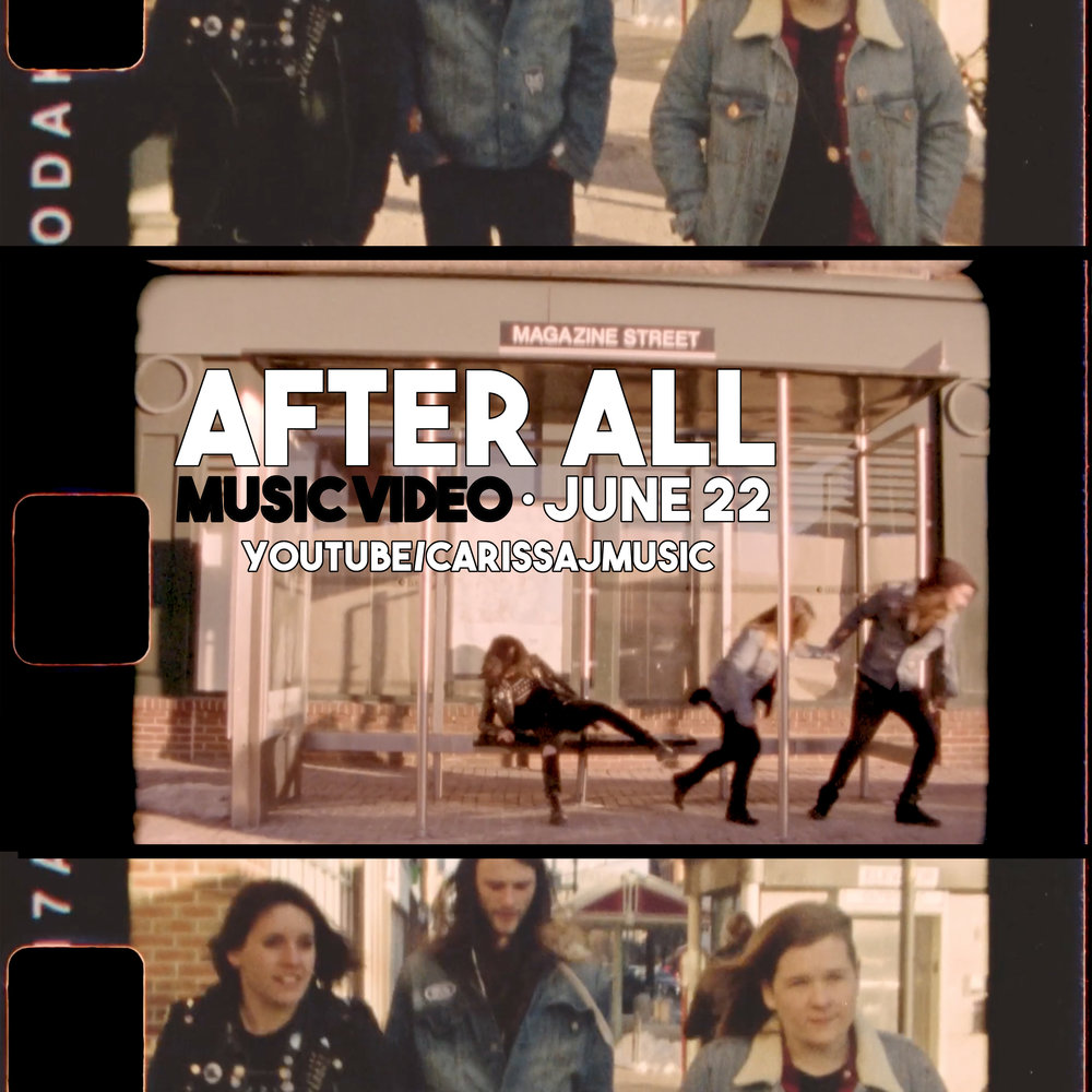 "Music video for upcoming single ""After All"" out 6/22!"