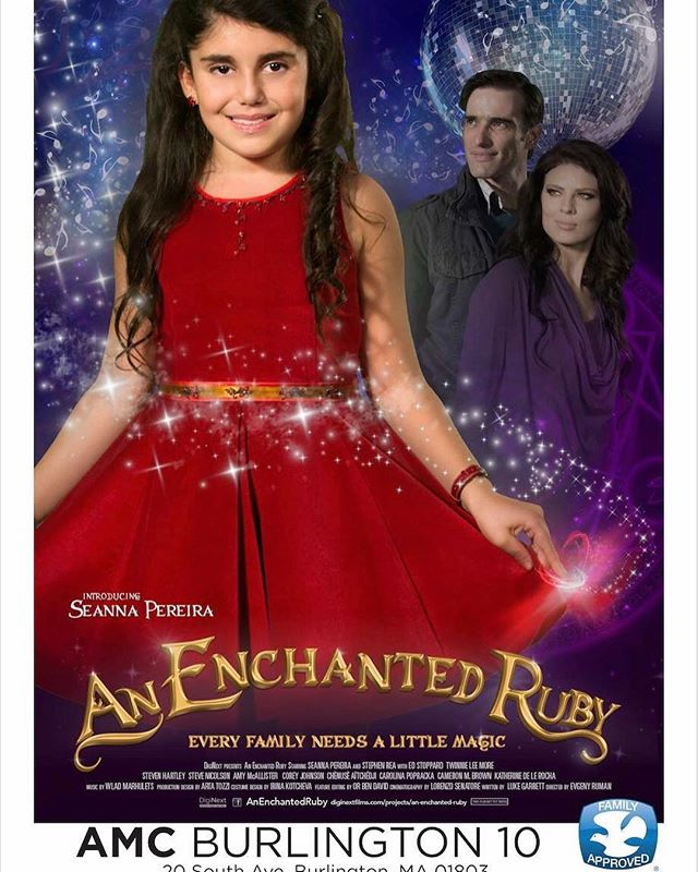 Who's excited for Tomorrow's special showing of An Enchanted Ruby in Burlington, Massachusetts at 7:00pm? Check out the link in our bio if you are yet to purchase your tickets!!! • • • • • • #film #moviesthatmatter #diginext #screening #Burlington #Massachusetts #bostonarea #tickets #movie #magical #seannapereira #bullying #bullyingawareness #moviescreening #youngactress #childrenfriendly #Boston #iboysandgirlsclub #familyfriendly #familynightout #fun #movienight #questionandanswer #music #childrenband #childrenmusic #childmovie #februrary #photooftheday