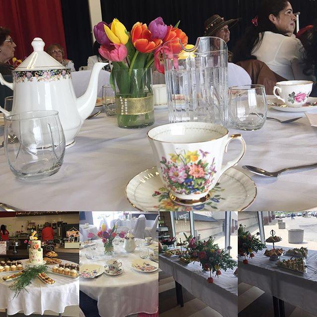 High Tea held at Faith Culture