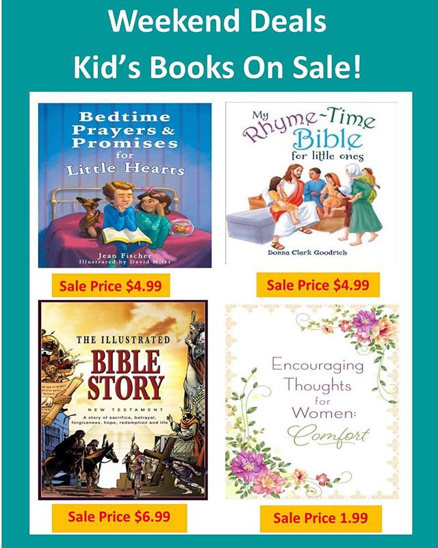 Weekend deals!! Kids books on sale! #faithculturelive #books #inspirationalgifts #shoplocal #meaningfulgifts #equippingthecity #torontoevents #torontoshopping