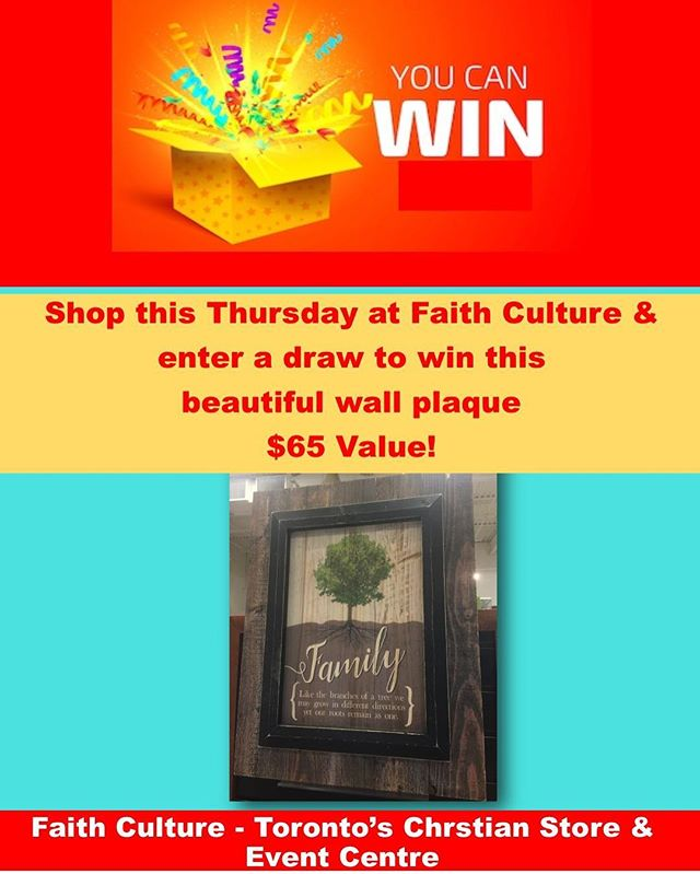 Shop this Thursday & win! #win #shoponthursday #books #gifts #events #eventstoronto #shoplocal #inspirationalgifts #warehousesale