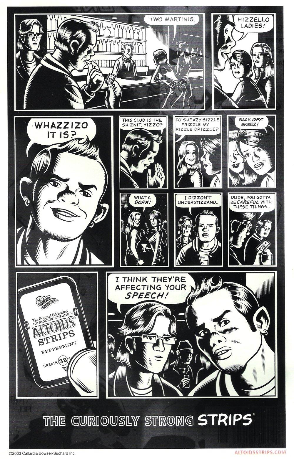 Altoids - Print (Comic Book)