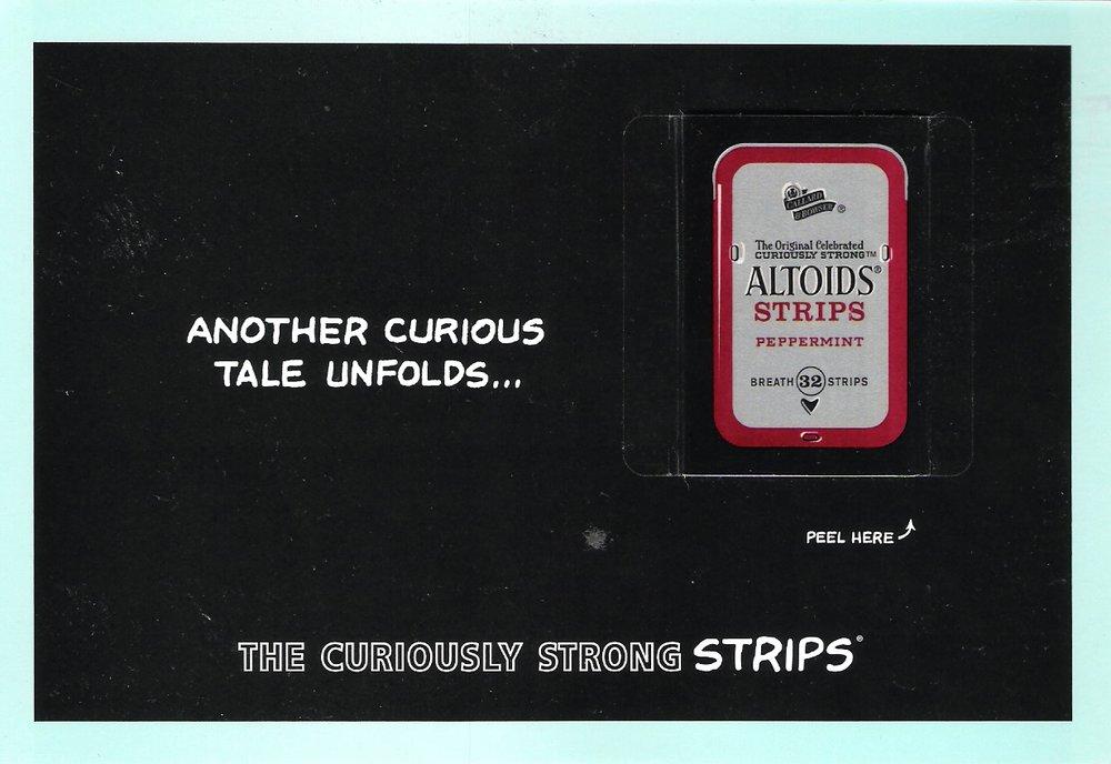 Altoids - Print (Magazine Insert - Front)