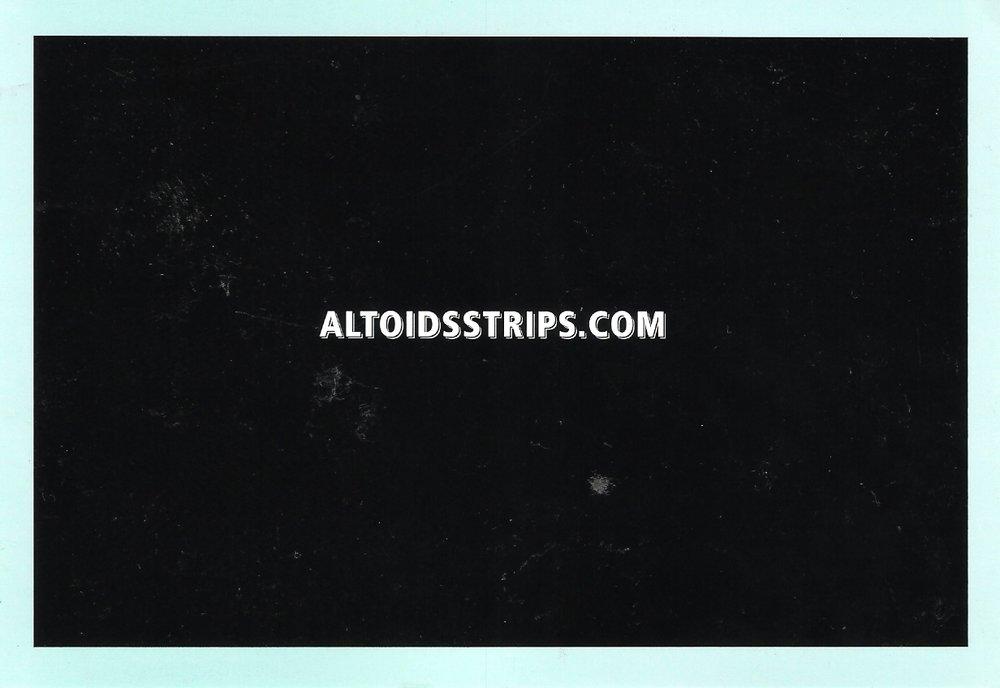 Altoids - Print (Magazine Insert - Back)