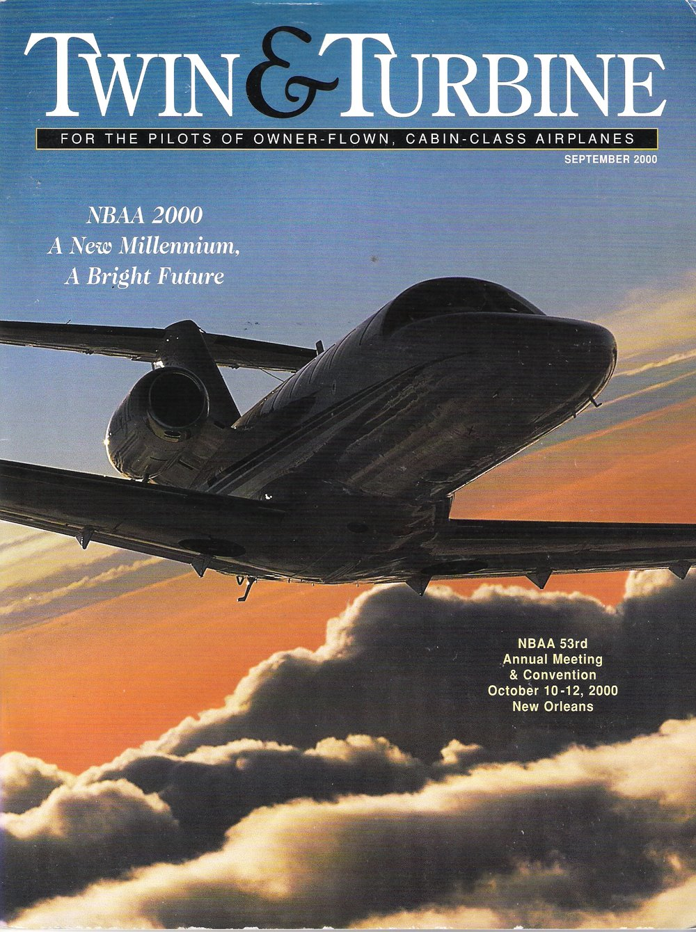 Twin & Turbine Magazine - NBAA edition (September 2000)