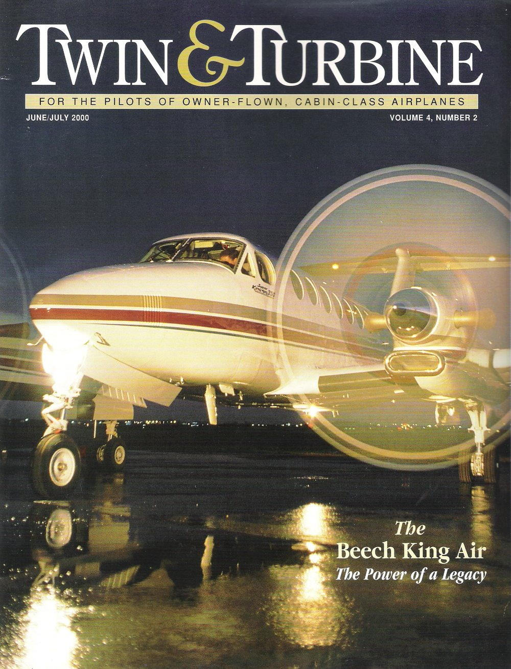 Twin & Turbine Magazine - June/July 2000