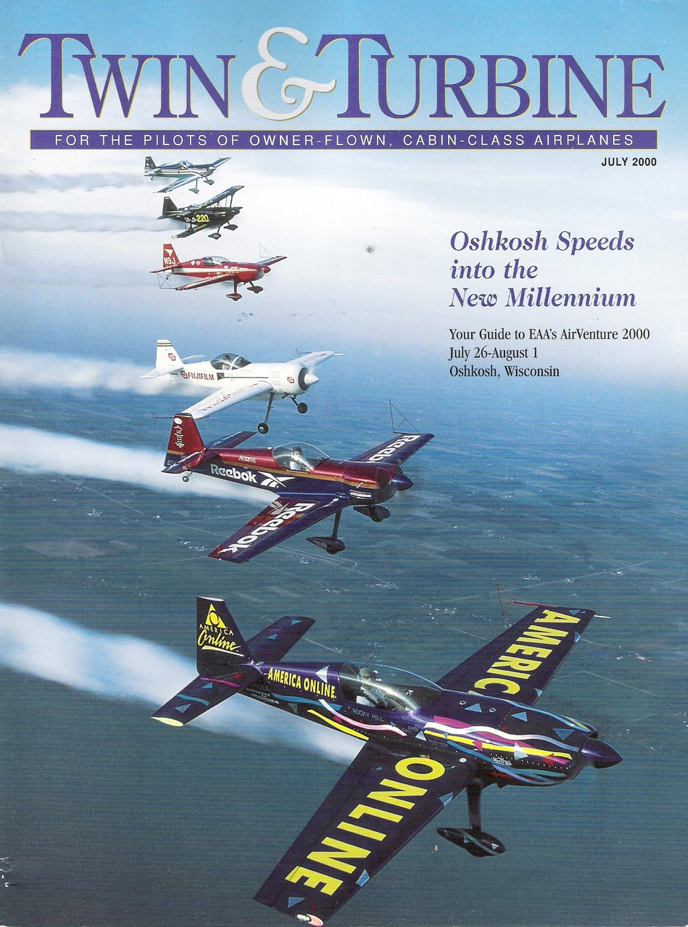 Twin & Turbine Magazine - Osh Kosh edition (July 2000)