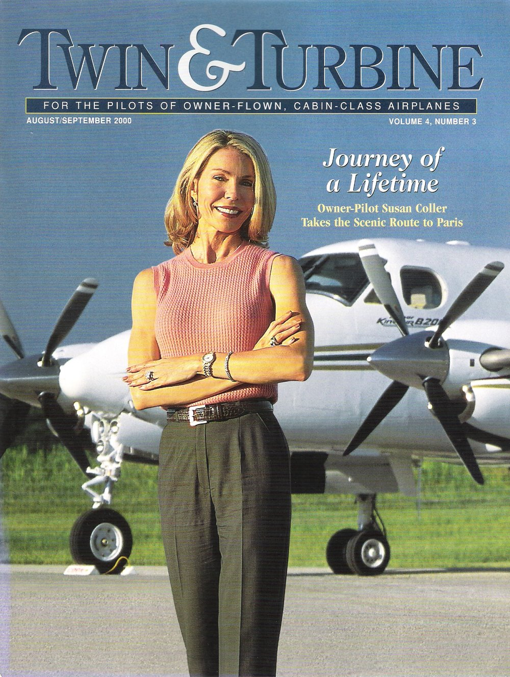 Twin & Turbine Magazine - August/September 2000
