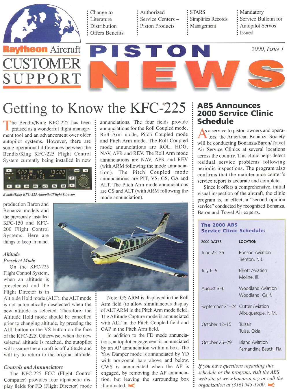 Piston News Newsletter - 2000