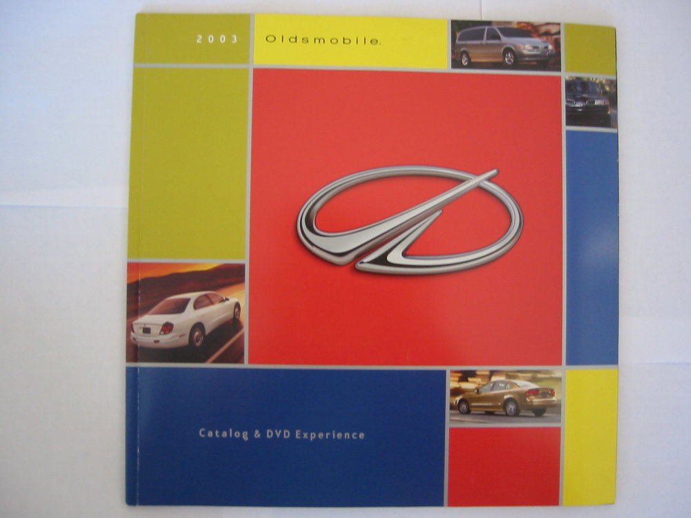 Oldsmobile Auto Catalog & DVD Experience - Front Cover