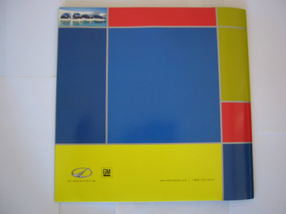 Oldsmobile Auto Catalog & DVD Experience - Back Cover