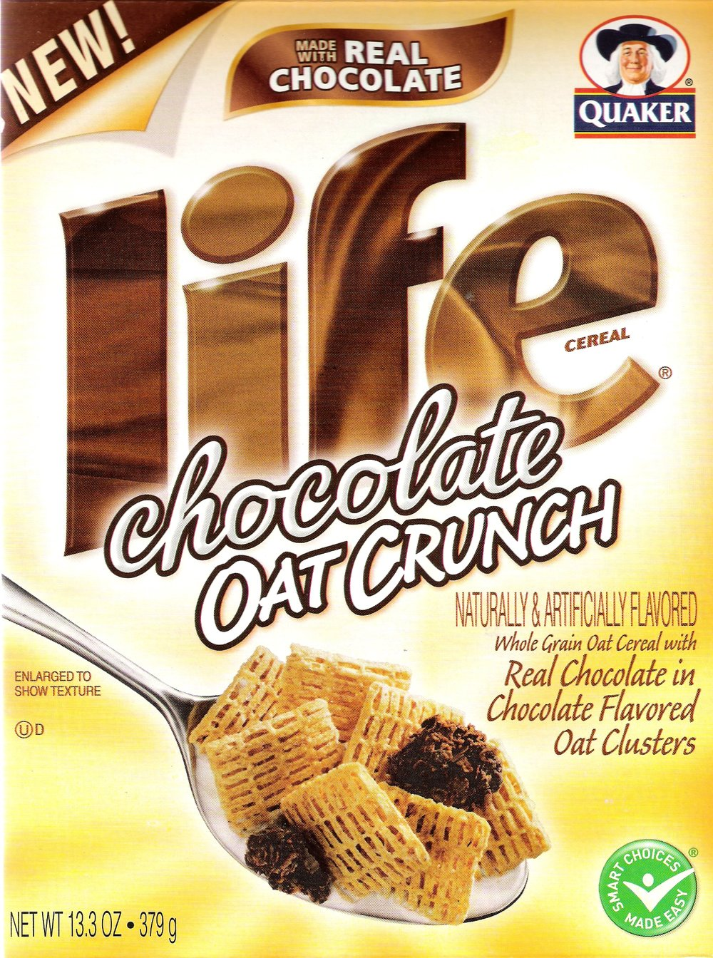 LIFE Chocolate Oat Crunch Cereal