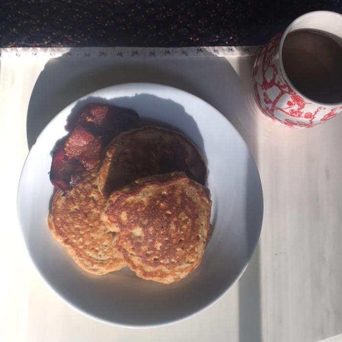 Fluffy Energizing Pancakes