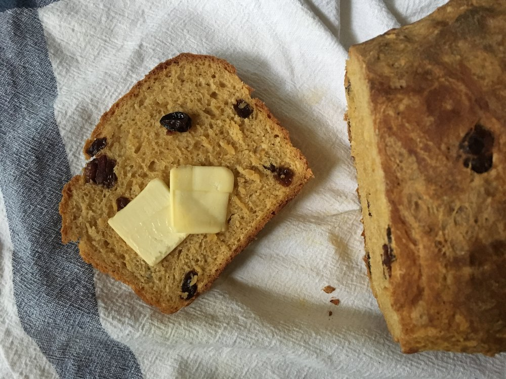 Savory Pumpkin Bread - No Knead