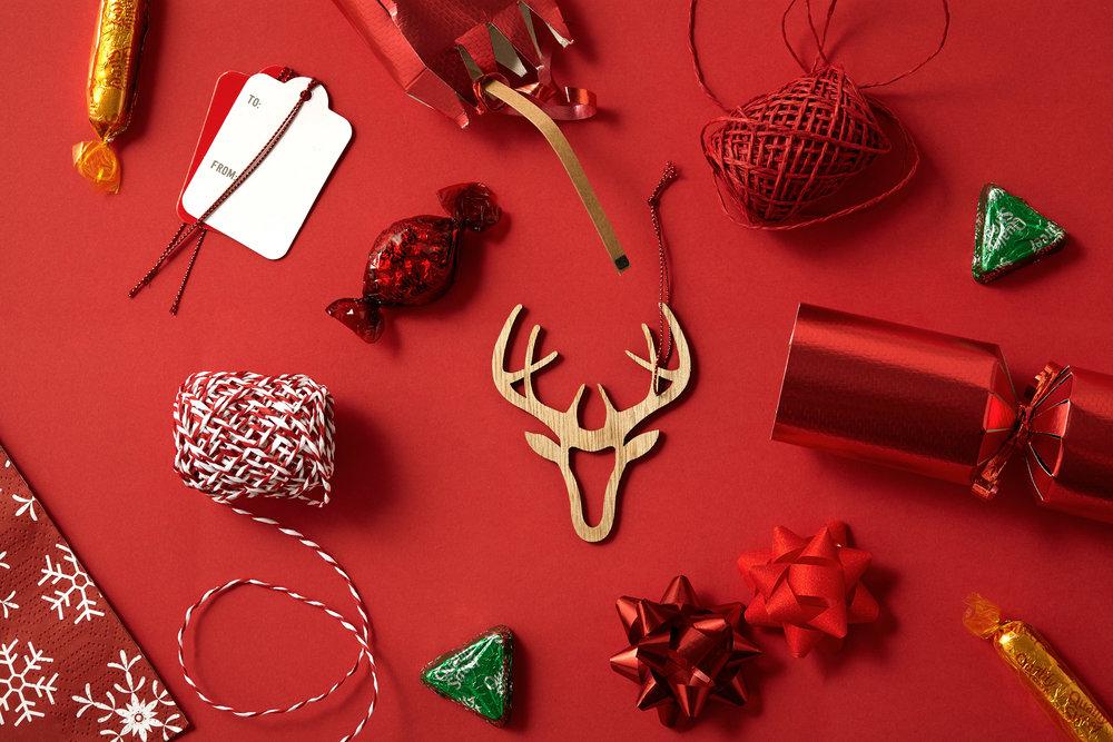 Antlers Christmas Overhead