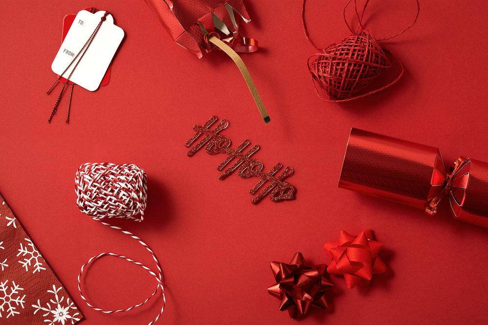 HoHoHo Christmas Overhead