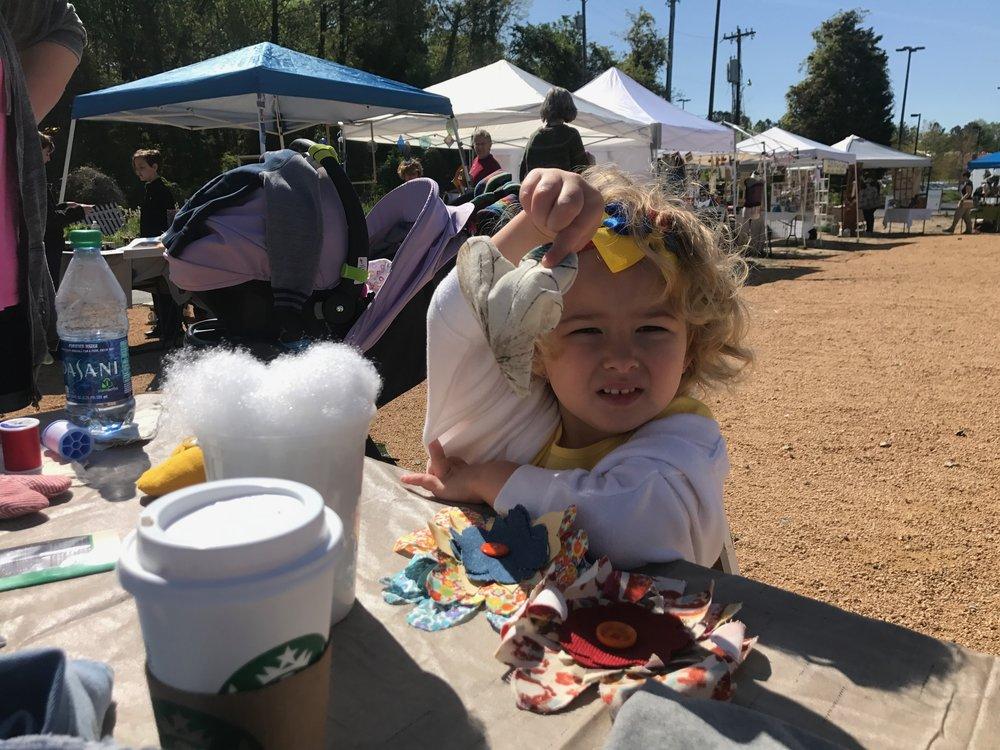 Lavender Sachets |The Scrap Exchange | Durham, NC