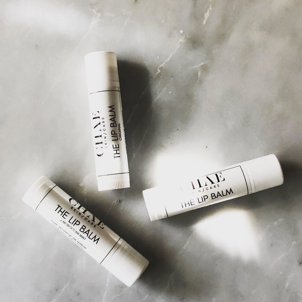 THE LIP BALM $12  A LUXE, EMOLLIENT TREATMENT MADE UP OF MOISTURE-BOOSTING, HIGHLY-ACTIVE RARE BUTTERS + OILS LIKE CUPUAÇU, KOKUM & MANGO.