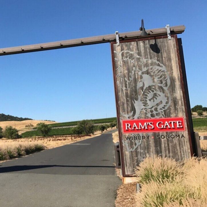 Ram's Gate Winery Entrance
