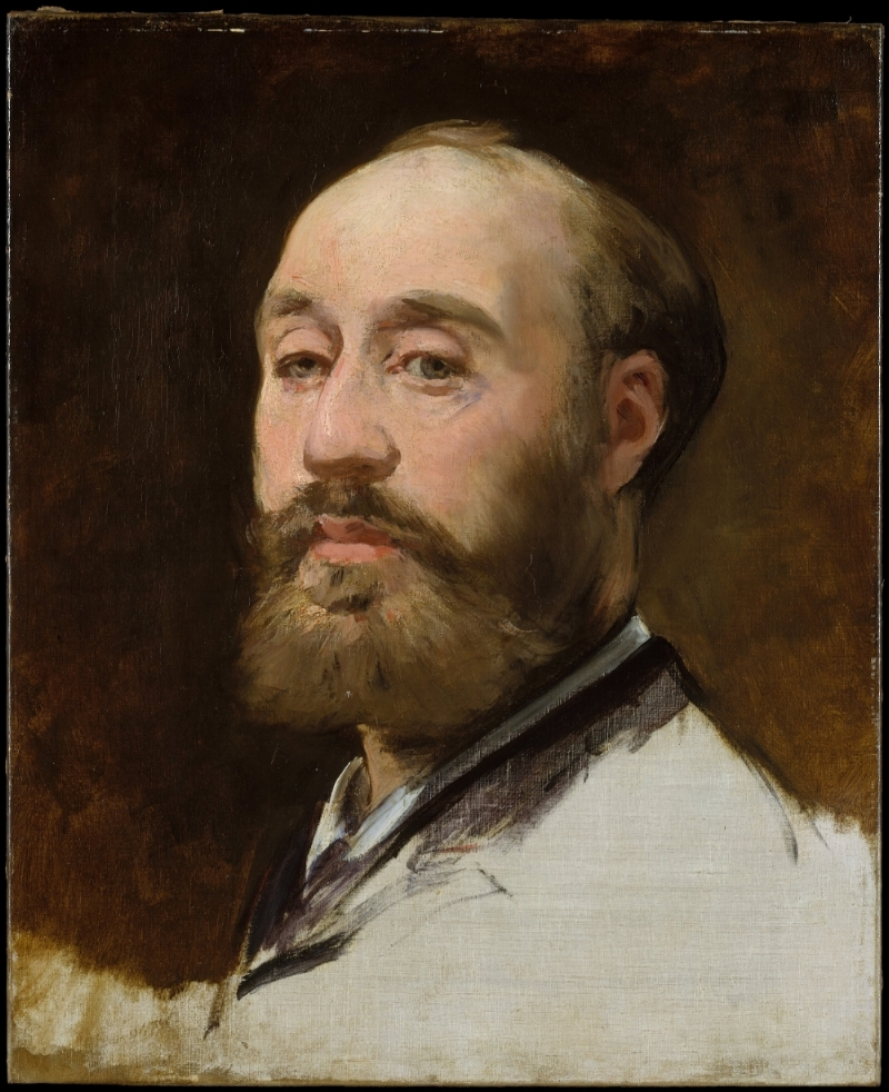 Édouard Manet,  Head of Jean-Baptiste Faure  (unfinished), 1882-1883, oil on canvas, Metropolitan Museum of Art, Gift of Mrs. Ralph J. Hines, 1959, 59.129.
