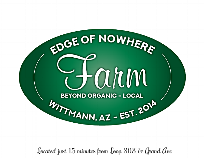 Welcome to the Edge of Nowhere! Your source for local, ethically raised meats and seasonal fruit. -