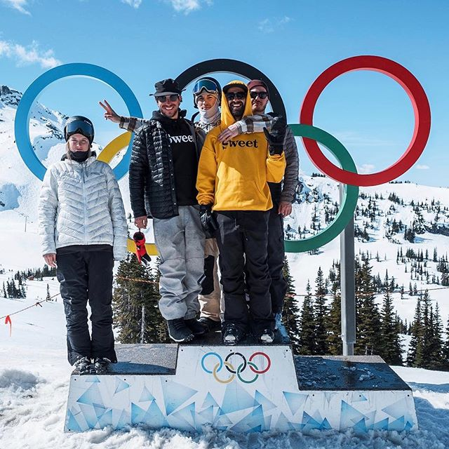 First or last. Second to none. 📸 @thebrownspy . . . . . #whistler #whistlerblackcomb #olympics #sweetboys