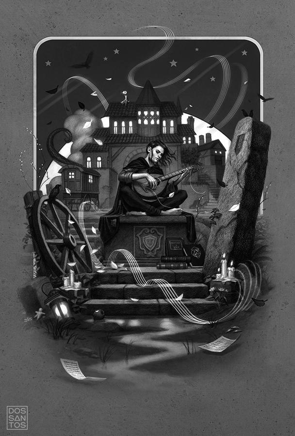 Galería de ilustraciones de la nueva edición de El nombre del viento Dandossantos_tnotw_cropped_21