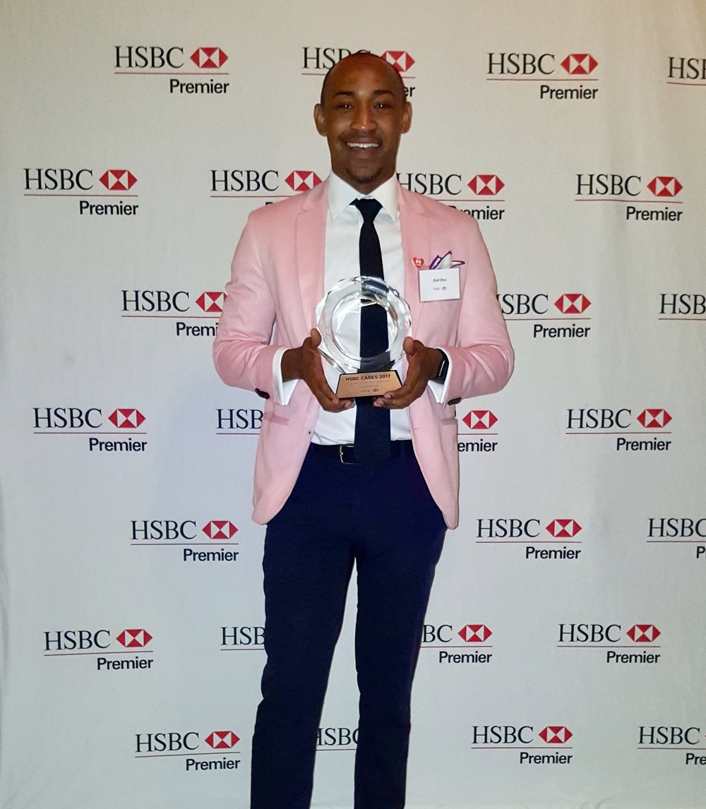 HSBC Bank's  2017 Award Recipient for Education