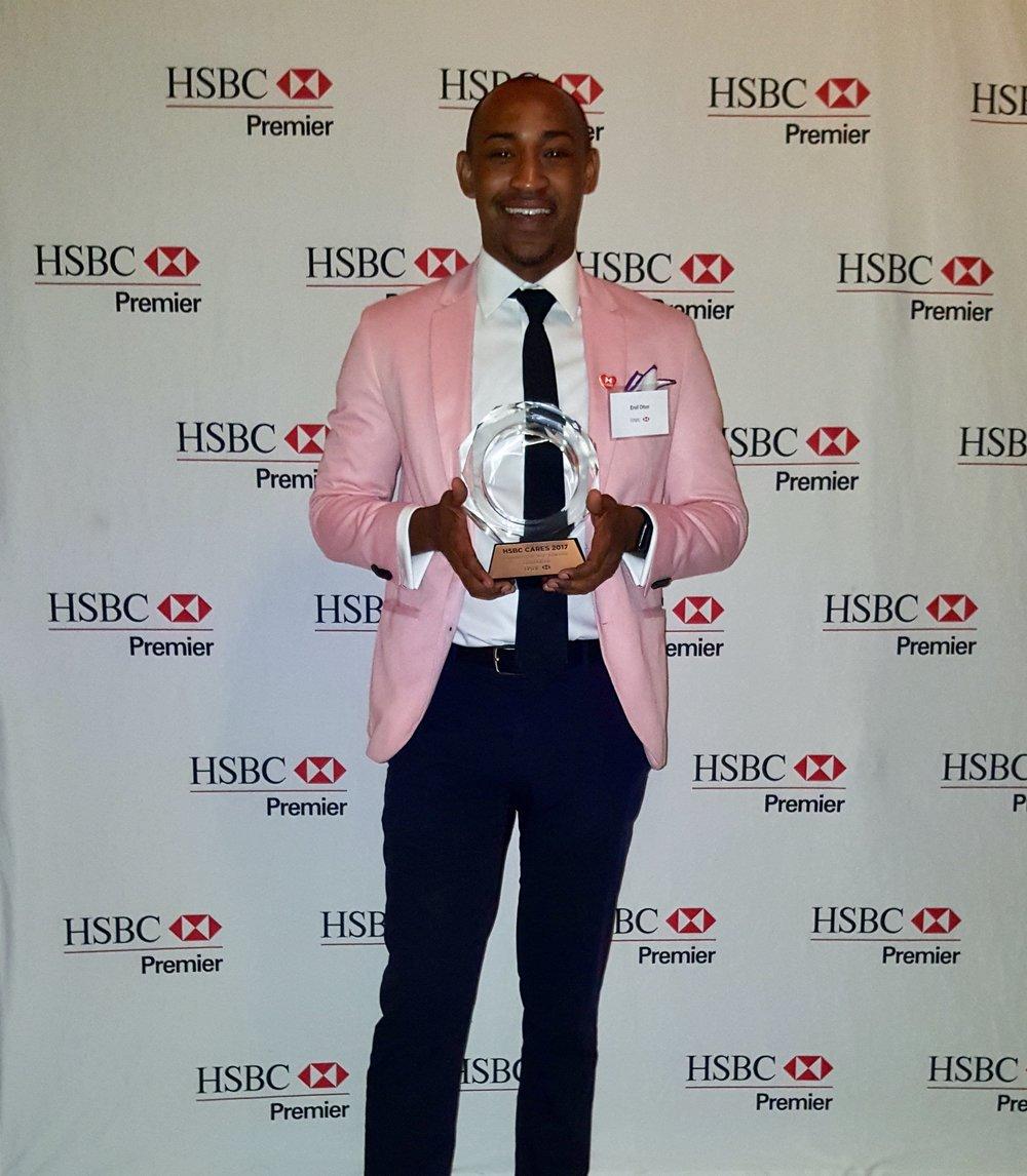 HSBC Cares Award Recipient - October 2017