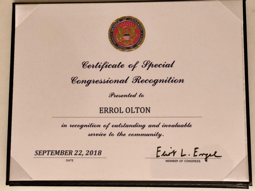 NY Congressman Eliot Engel