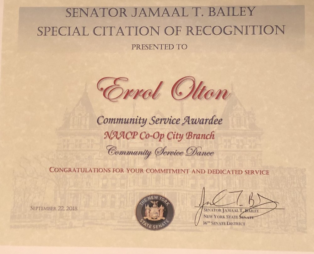 NY Senator Jamaal T. Bailey
