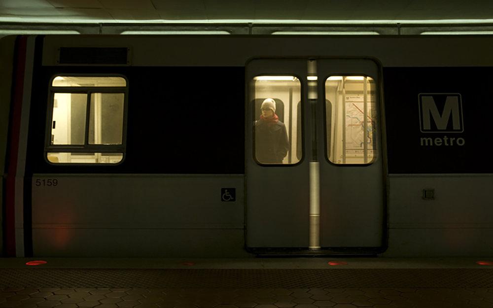 Streams Travel Strip, Washington DC Metro,3-1-2009 ,detail.