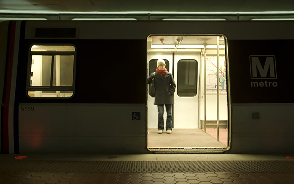 Streams Travel Strip, Washington DC Metro 3-1-2009, detail.
