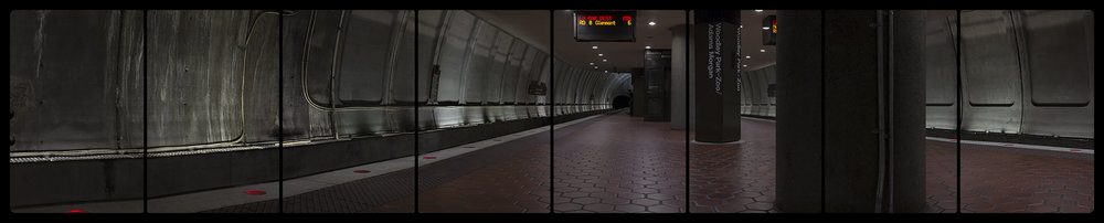 Metro Rail, Woodley Park-Zoo, 6-15-2014, 2677-2685