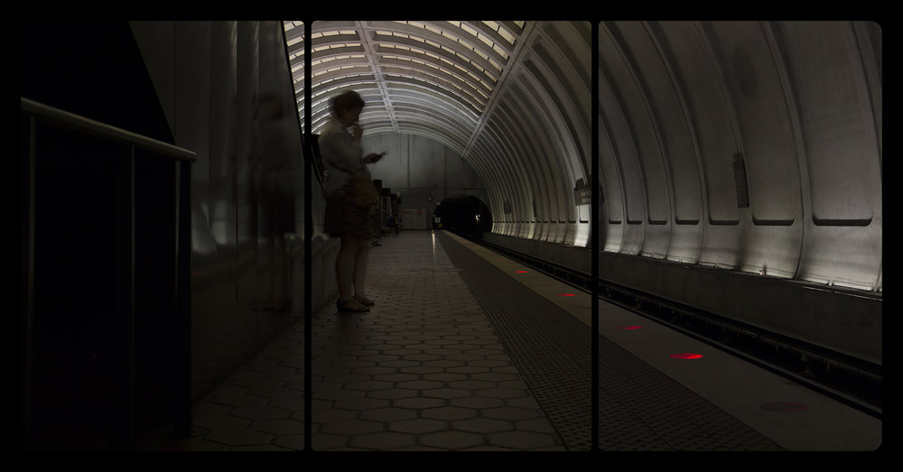 Metro Rail, Woodley Park-Zoo, 6-15-2014, 2747-2749
