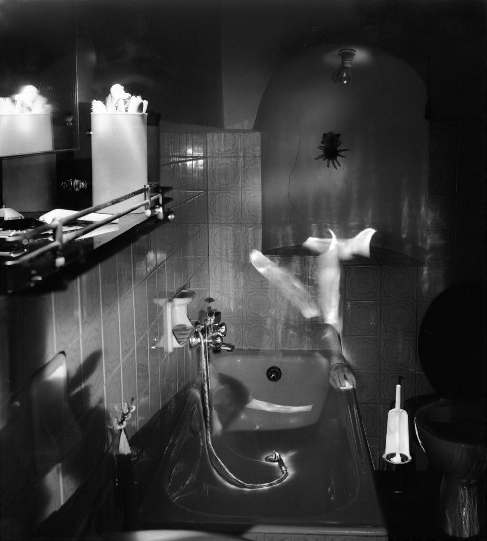 Bathtubs and Fragmentation ,  Self #4 , 1996