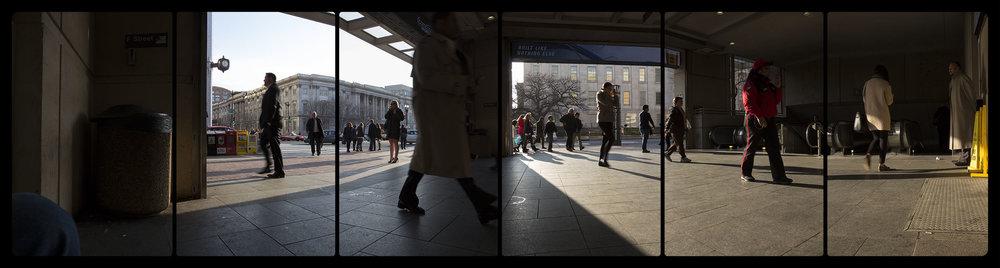 Metro Rail, Gallery Place Chinatown, 3-25-2015-5079-5099