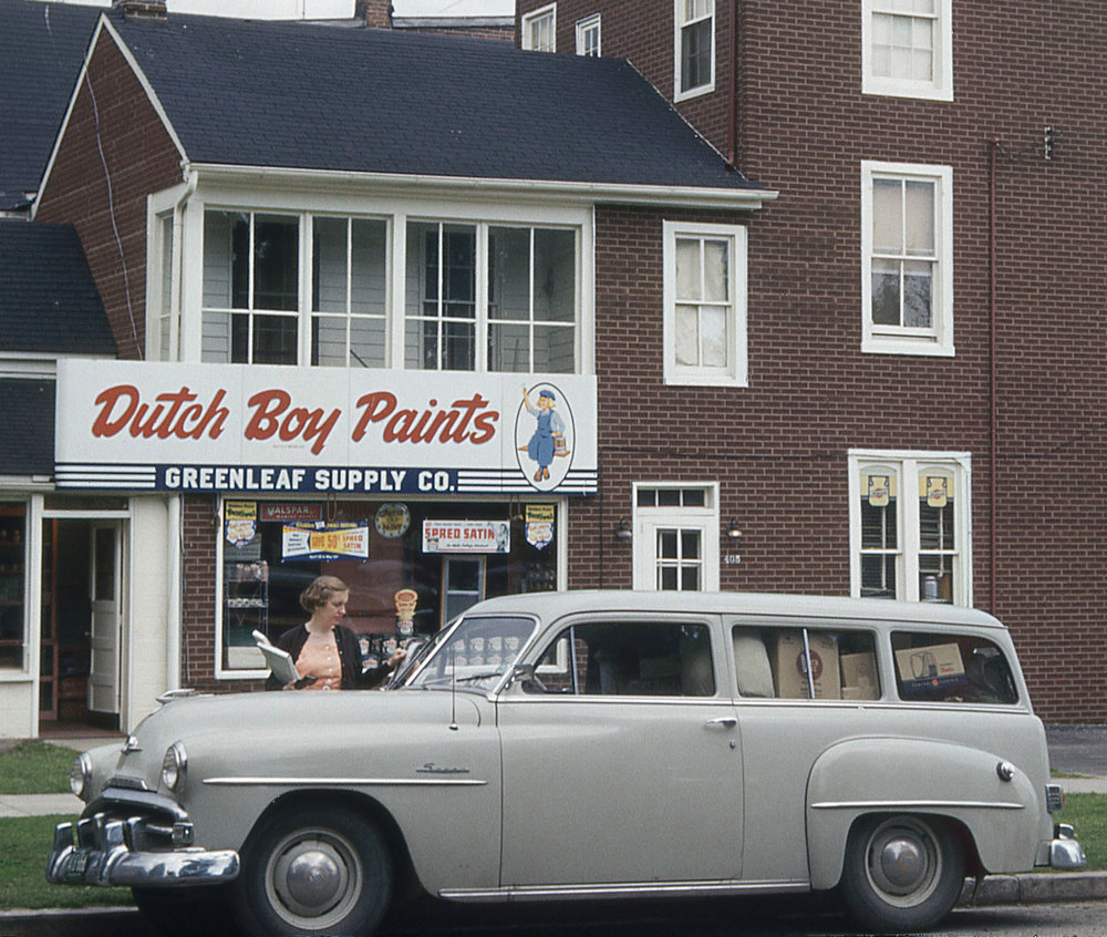 The Old Savoy - Bob's trusty steed: a 1950 Plymouth Savoy station wagon.