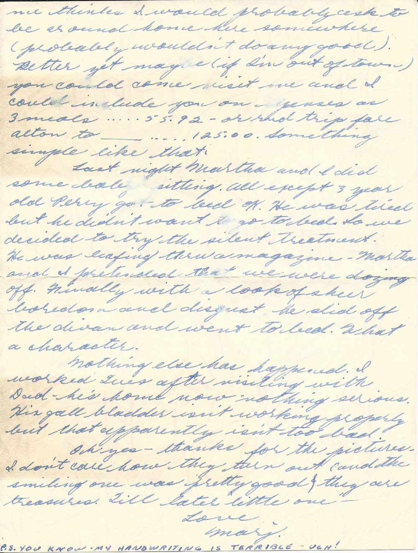 Feb. 19, 1953 (Marj) Page 2