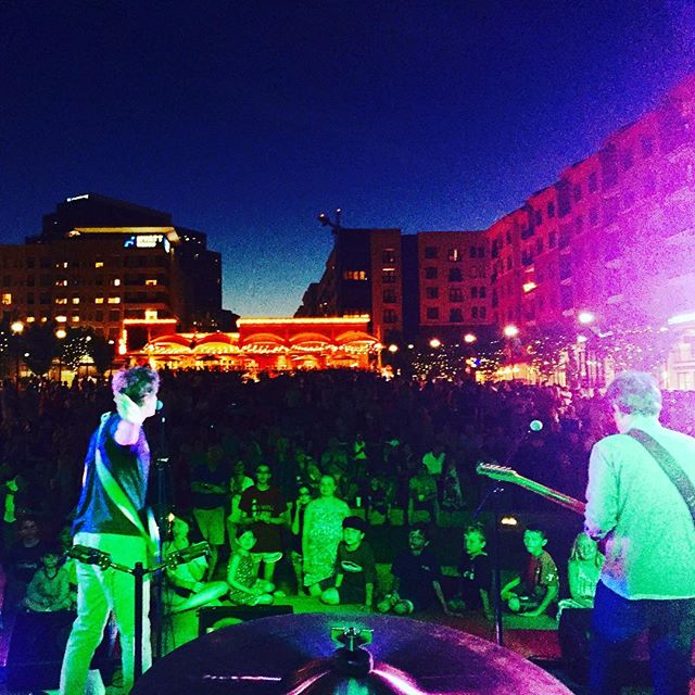 Hope to see every single one of you again tomorrow night at the Oak City Jam Fest in Raleigh.  North Hills. Good times.