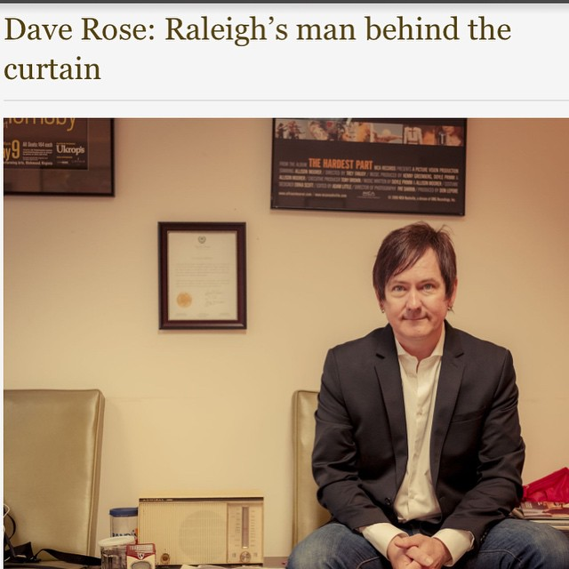 We are proud to know this man.  http://www.waltermagazine.com/dave-rose/