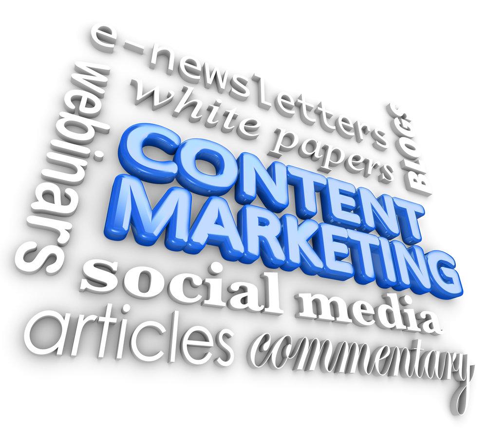 Articles and advertorials Content Marketing