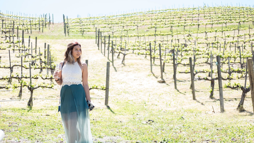 Rachel Off Duty: Wine Tasting in Malibu